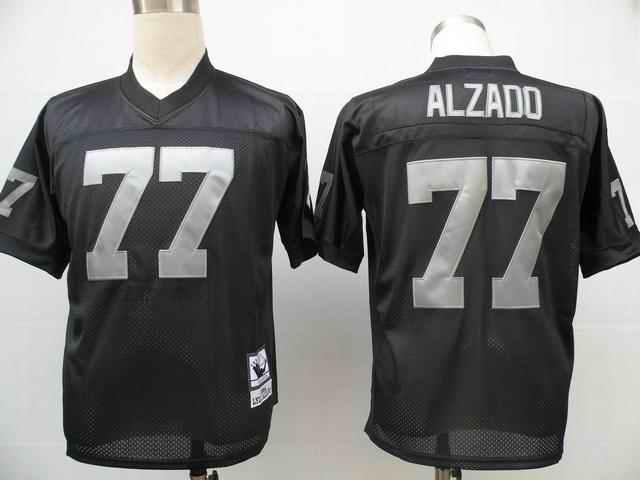 Raiders 77 Lyle Alzado Throwback black Jerseys