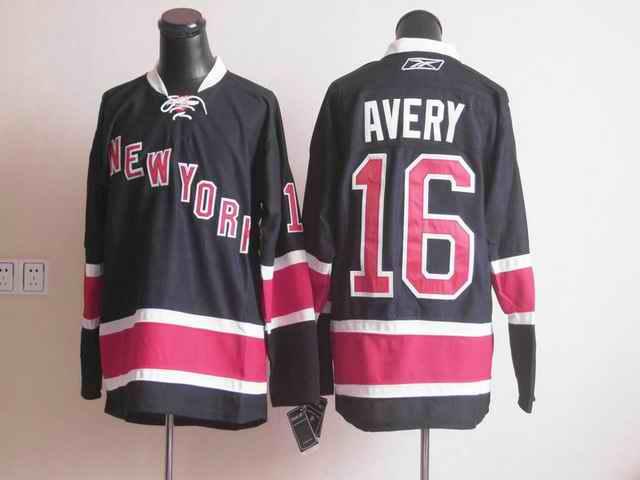 Rangers 16 Avery dark blue Jerseys