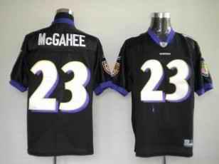 Ravens 23 Willis McGahee Black Jerseys