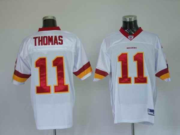Redskins 11 Devin Thomas white Jerseys