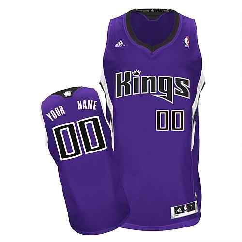Sacramento Kings Custom Swingman purple Road Jersey