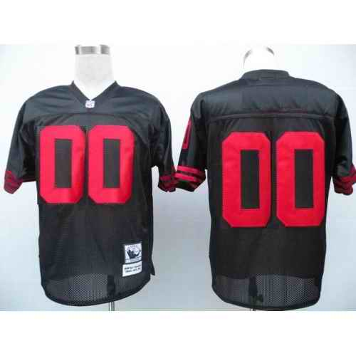 San Francisco 49ers Men Customized black Jersey