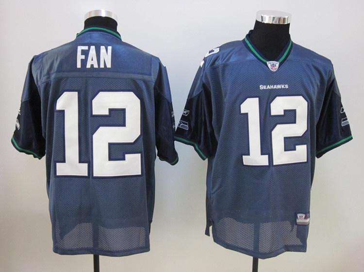 Seahawks 12 Fan blue Jerseys