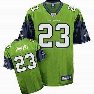 Seahawks 23 Trufant green Jerseys