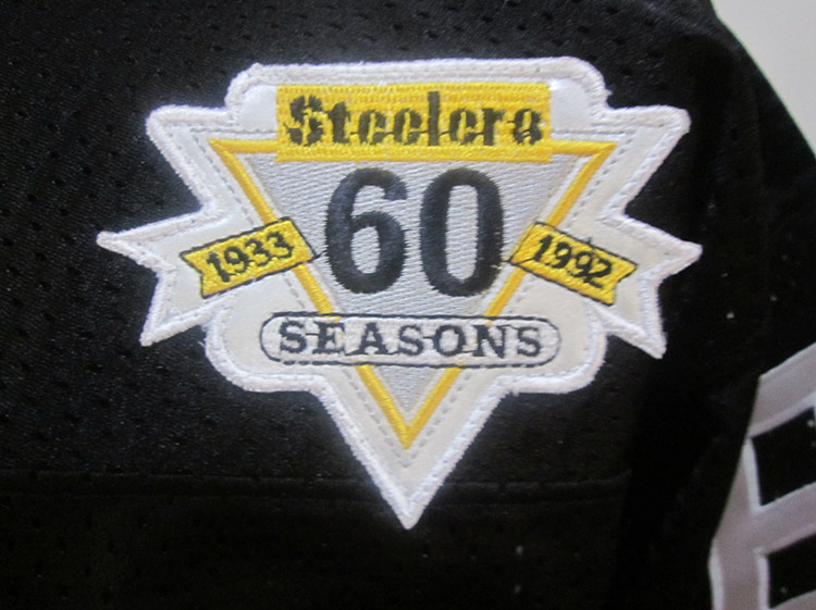 Steelers 60th Patch