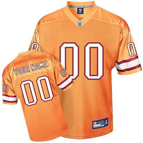Tampa Bay Buccaneers Men Customized yellow Jersey