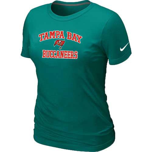 Tampa Bay Buccaneers Women's Heart & Soul L.Green T-Shirt