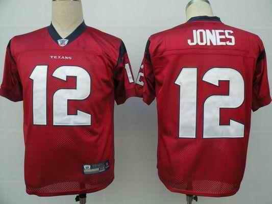 Texans 12 Jacoby Jones red Jerseys
