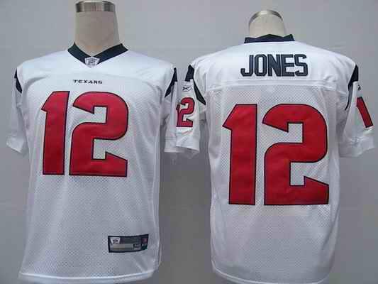 Texans 12 Jacoby Jones white Jerseys