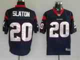 Texans 20 Steve Slaton Blue Jerseys