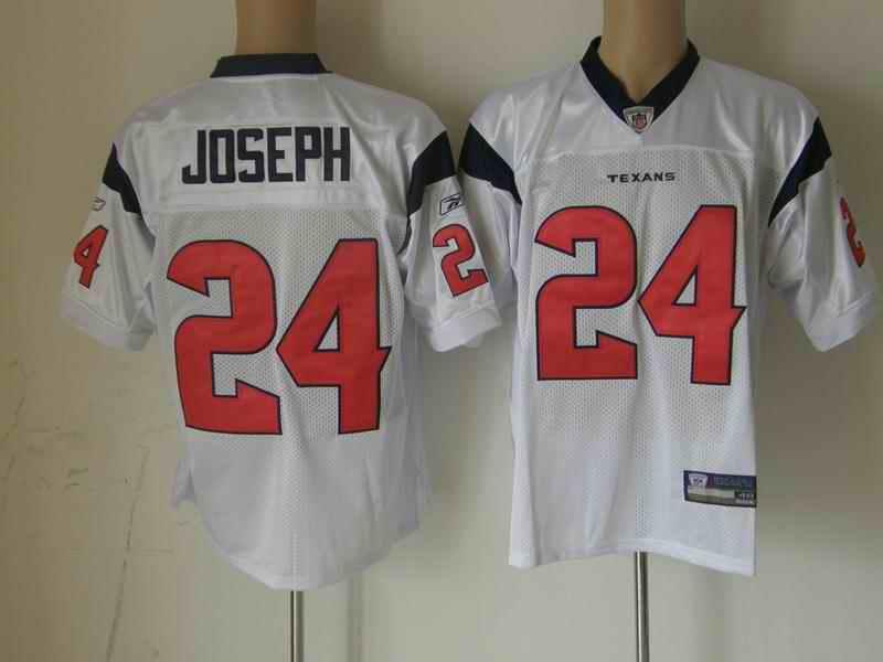 Texans 24 Joseph white Jerseys