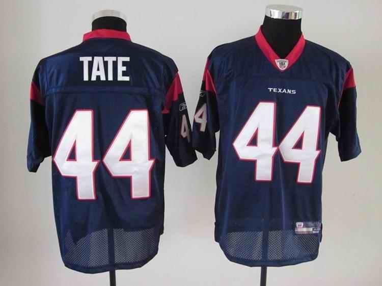Texans 44 Tate blue Jerseys