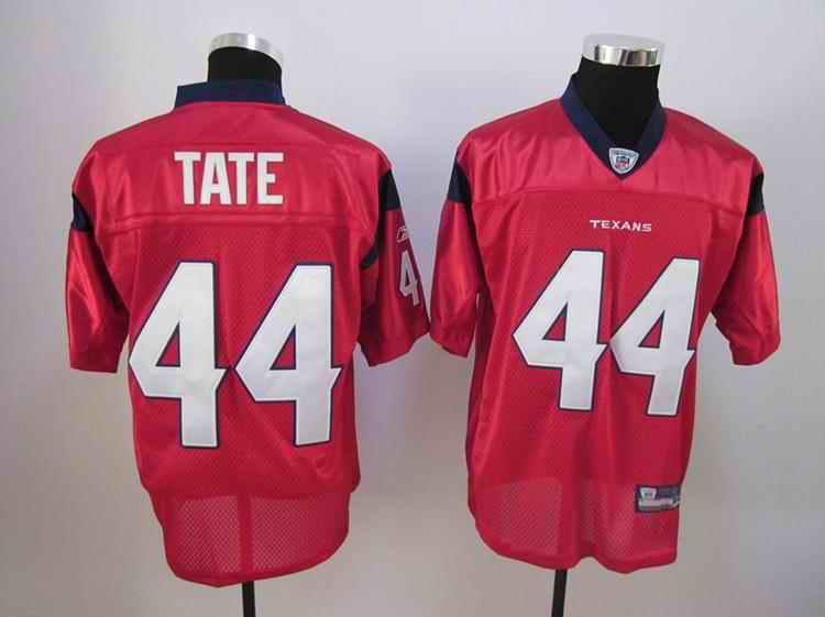 Texans 44 Tate red Jerseys