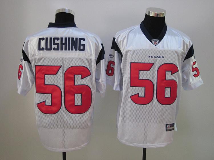 Texans 56 Cushing White Jerseys