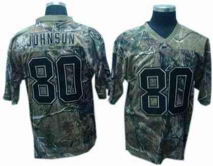 Texans 80 A.Johnson camo Jerseys