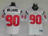 Texans 90 Williams White Jerseys