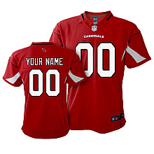 Toddler Nike Arizona Cardinals Customized Game Team Color Jersey