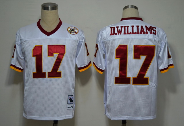 Washington Redskins 17 D.Williams White M&N Jerseys
