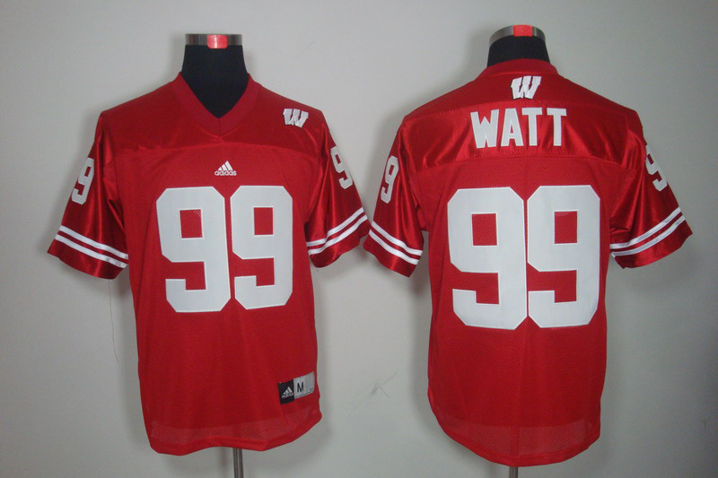 Wisconsin Badgers 99 Watt Red Jerseys