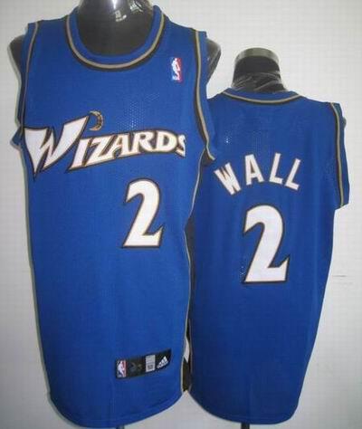 Wizards 2 John Wall Blue Jerseys