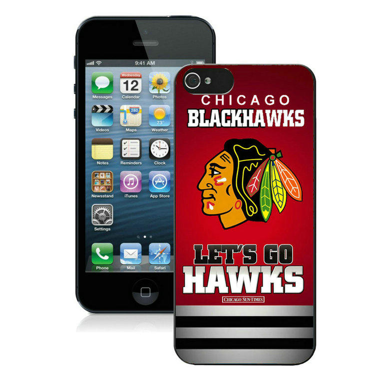 chicago blackhawks-iPhone-5-Case