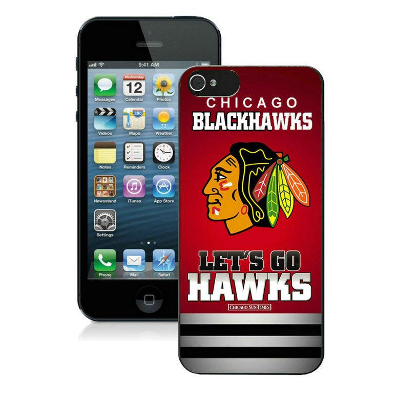 chicago blackhawks-iPhone-5-Case