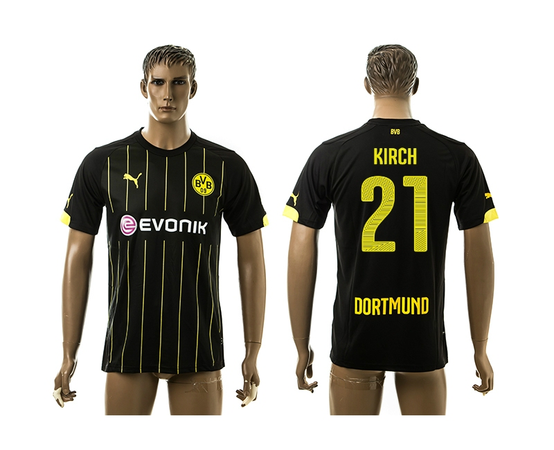 2014-15 Dortmund 21 Kirch Away Thailand Jerseys