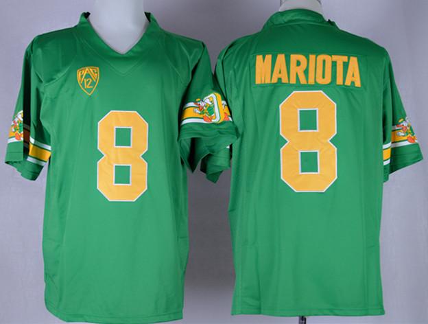 Oregon Ducks 8 Mariota Green Jerseys