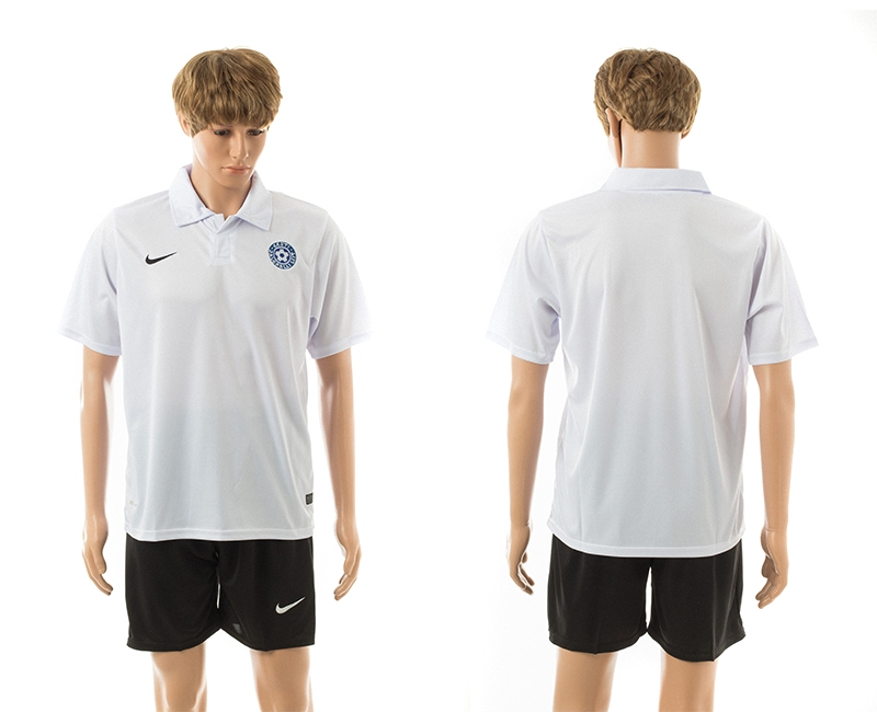 2014-15 Estonia Away Jerseys