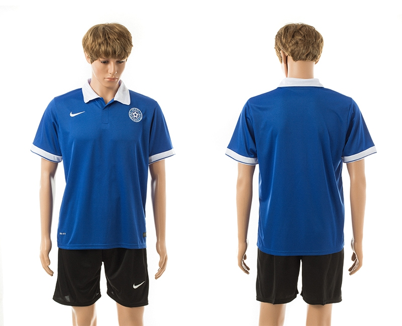 2014-15 Estonia Home Jerseys