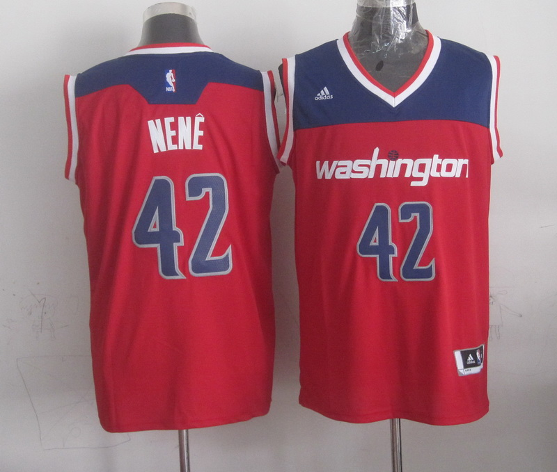 Wizards 42 Nene Red New Revolution 30 Jerseys
