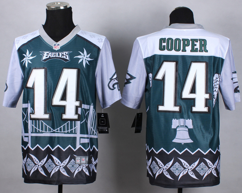 Nike Eagles 14 Cooper Noble Elite Jerseys