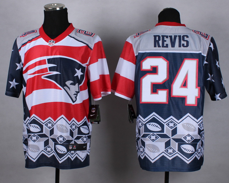 Nike Patriots 24 Revis Noble Elite Jerseys