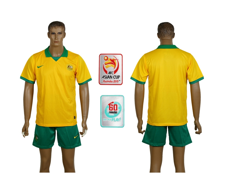2014-15 Australia AFC Asian Cup Home Jerseys