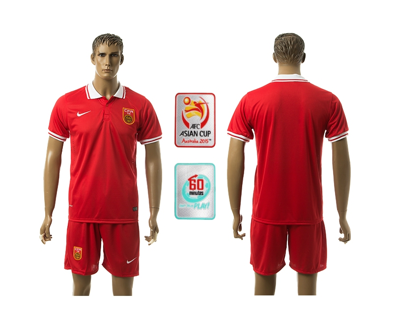 2014-15 China AFC Asian Cup Home Jerseys