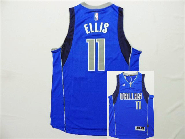 Mavericks 11 Ellis Blue New Revolution 30 Jerseys