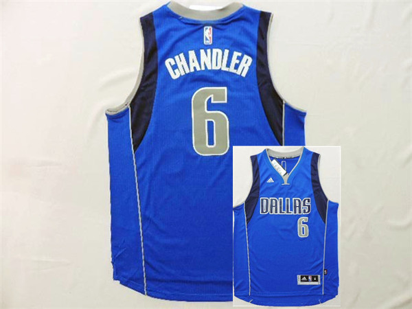Mavericks 6 Chandler Blue New Revolution 30 Jerseys