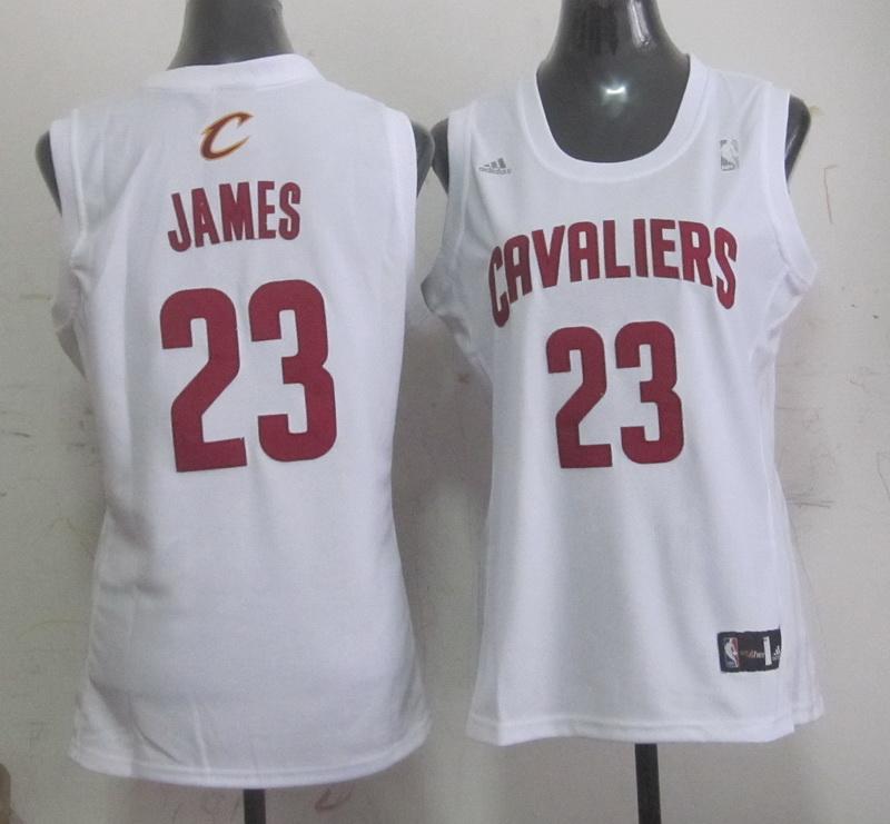 Cavaliers 23 James White Women Jersey