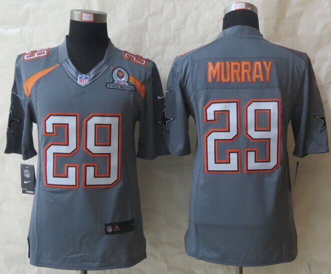 Nike Cowboys 29 Murray Grey 2015 Pro Bowl Elite Jerseys