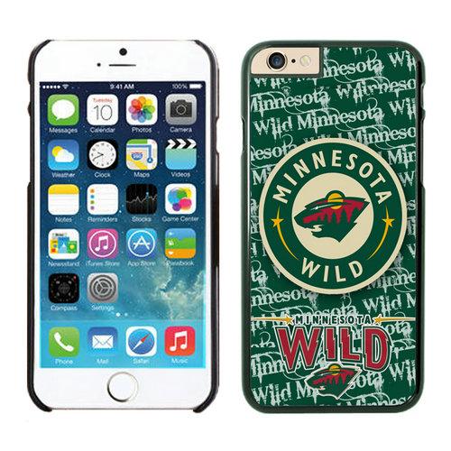 Minnesota Wild iPhone 6 Cases Black