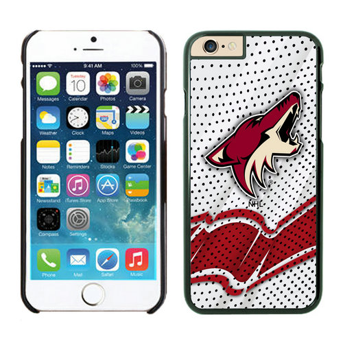Phoenix Coyotes iPhone 6 Cases Black03