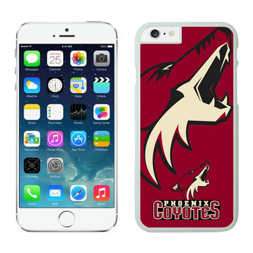 Phoenix Coyotes iPhone 6 Cases White
