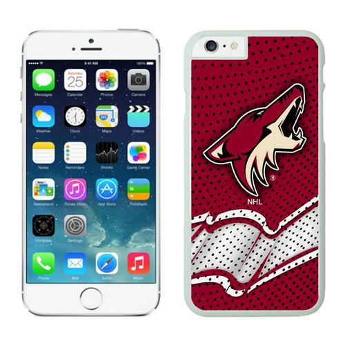 Phoenix Coyotes iPhone 6 Cases White02