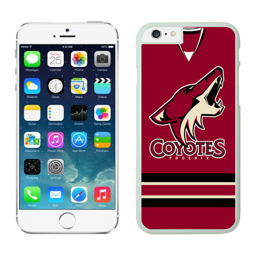 Phoenix Coyotes iPhone 6 Cases White04
