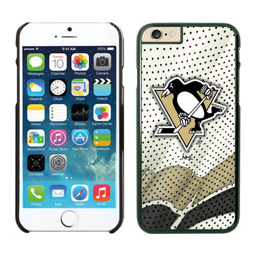 Pittsburgh Penguins iPhone 6 Cases Black04