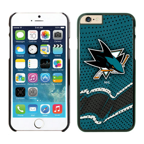 San Jose Sharks iPhone 6 Cases Black04