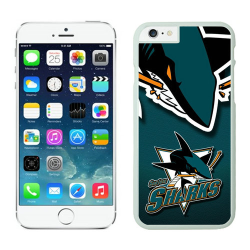 San Jose Sharks iPhone 6 Cases White