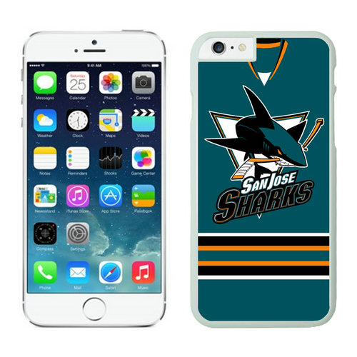 San Jose Sharks iPhone 6 Cases White02
