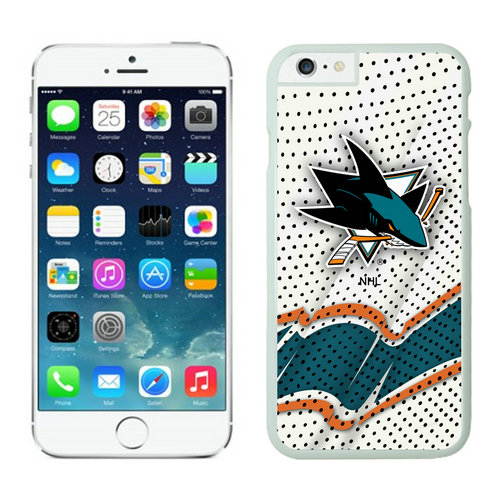 San Jose Sharks iPhone 6 Cases White03