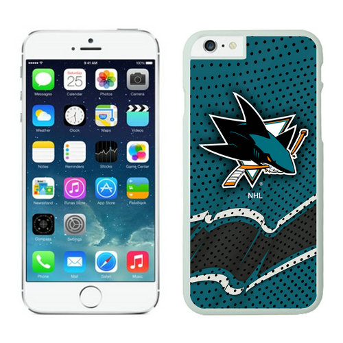 San Jose Sharks iPhone 6 Cases White04